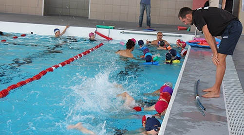 Aqua ecole de natation aquagym for Piscine amphitrite